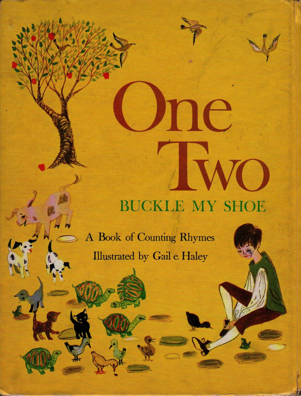 One Two Buckle My Shoe A Book Of Counting Rhymes