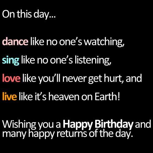Birthday Quotes For Friends QuotesGram by quotesgram – Words for 21st Birthday Card