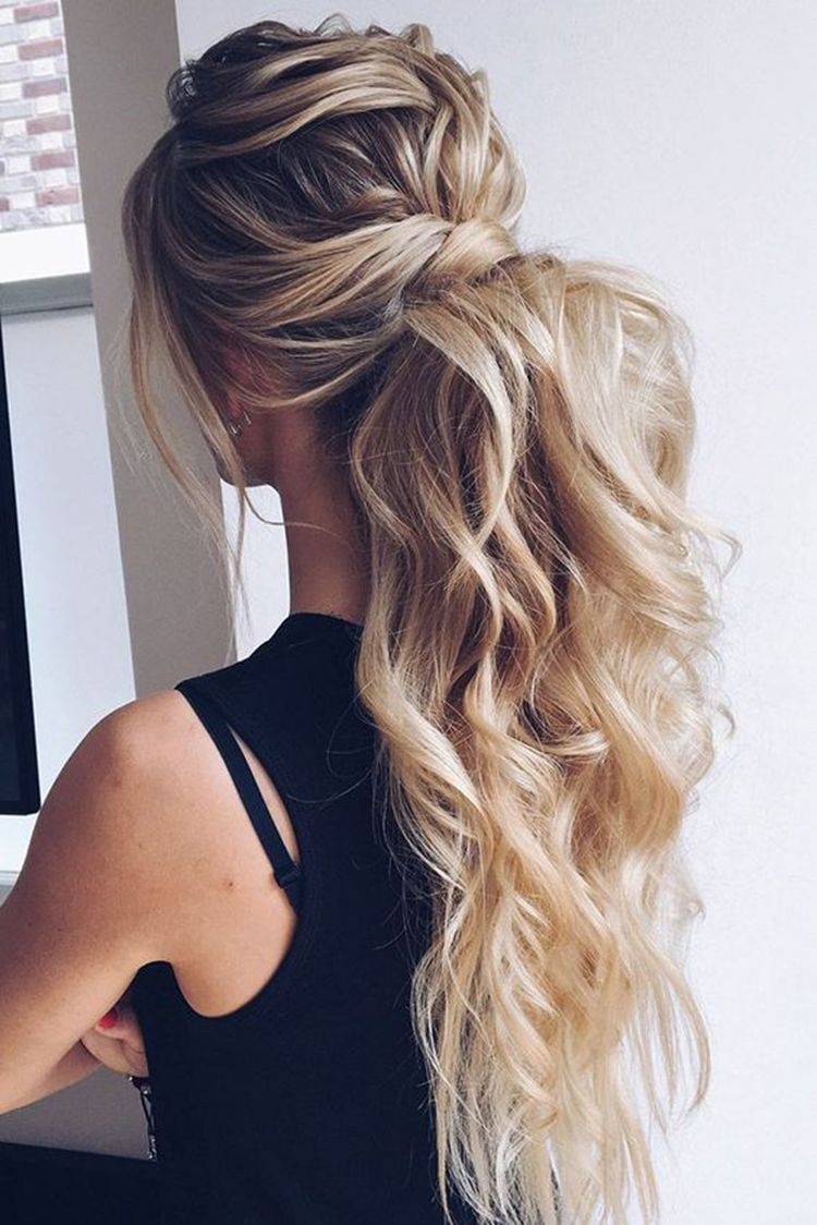 Diy Ponytail Ideas You Re Totally Going To Want To 2019 Elegant Wedding Hair Prom Ponytail Hairstyles Ponytail Hairstyles