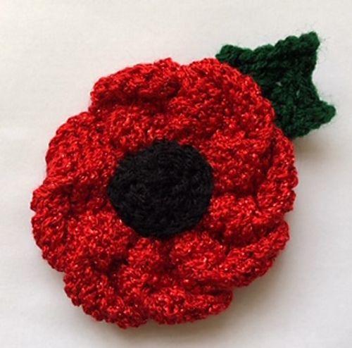 Ravelry: My Best Rememberance Poppy pattern by Caroline ...