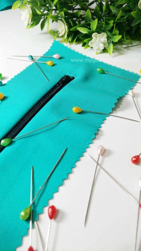Learn how to sew a Hidden Zipper, an Exposed Zipper and a Welt Zipper  Easy #sewingtutorial for #beginnersewing