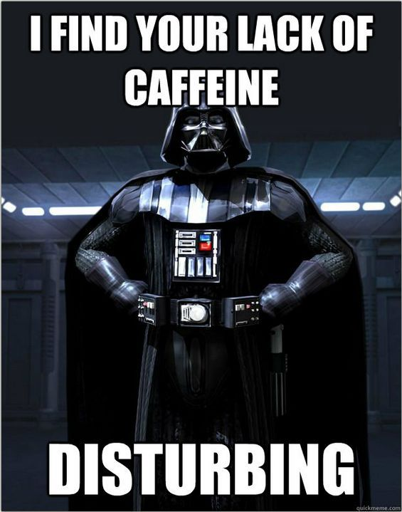 Happy Starwarsday Coffee Lovers May The Fourth Be With You