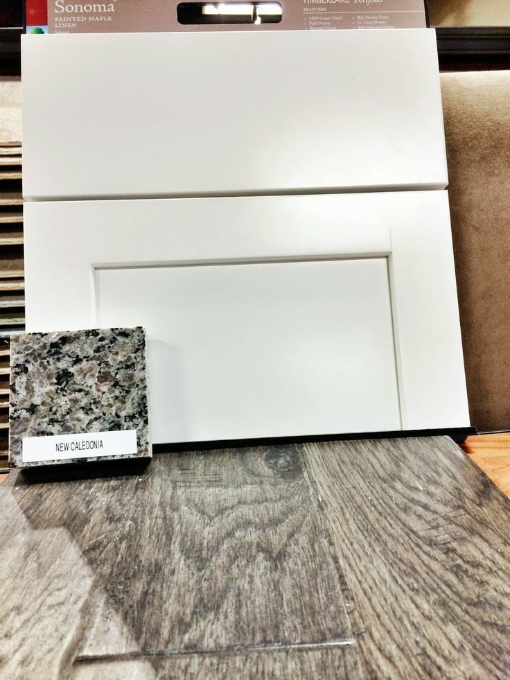 Image result for white cabinets with caledonia granite | Ideas for ...