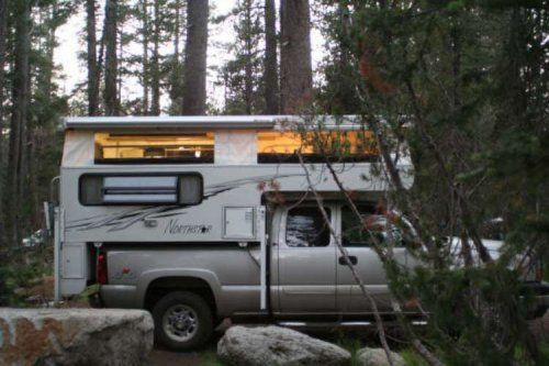 how about some wild forest camping....