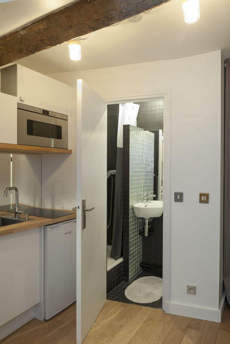 Amenager Une Salle De Bain De 10M2 aménagement studio paris : 10m2 fonctionnels | salle de