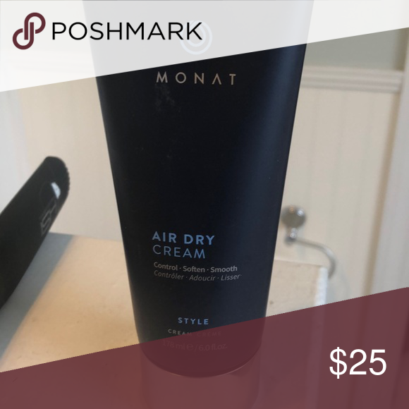 Monat Air dry cream Seal broken but never used Other Air