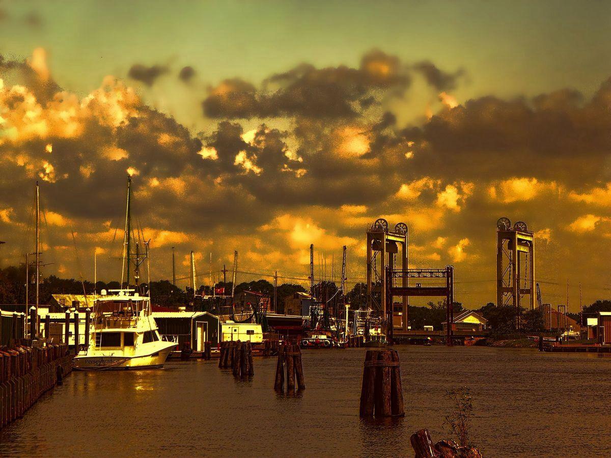 Delcambre Canal/Bayou Carlin Skyline, New york skyline