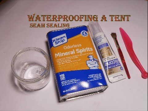 DIY waterproofing. How to improve a cheap tent horse blanket tarp. & DIY waterproofing. How to improve a cheap tent horse blanket ...