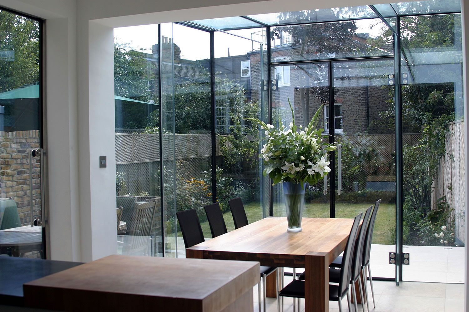 Glass extensions uk