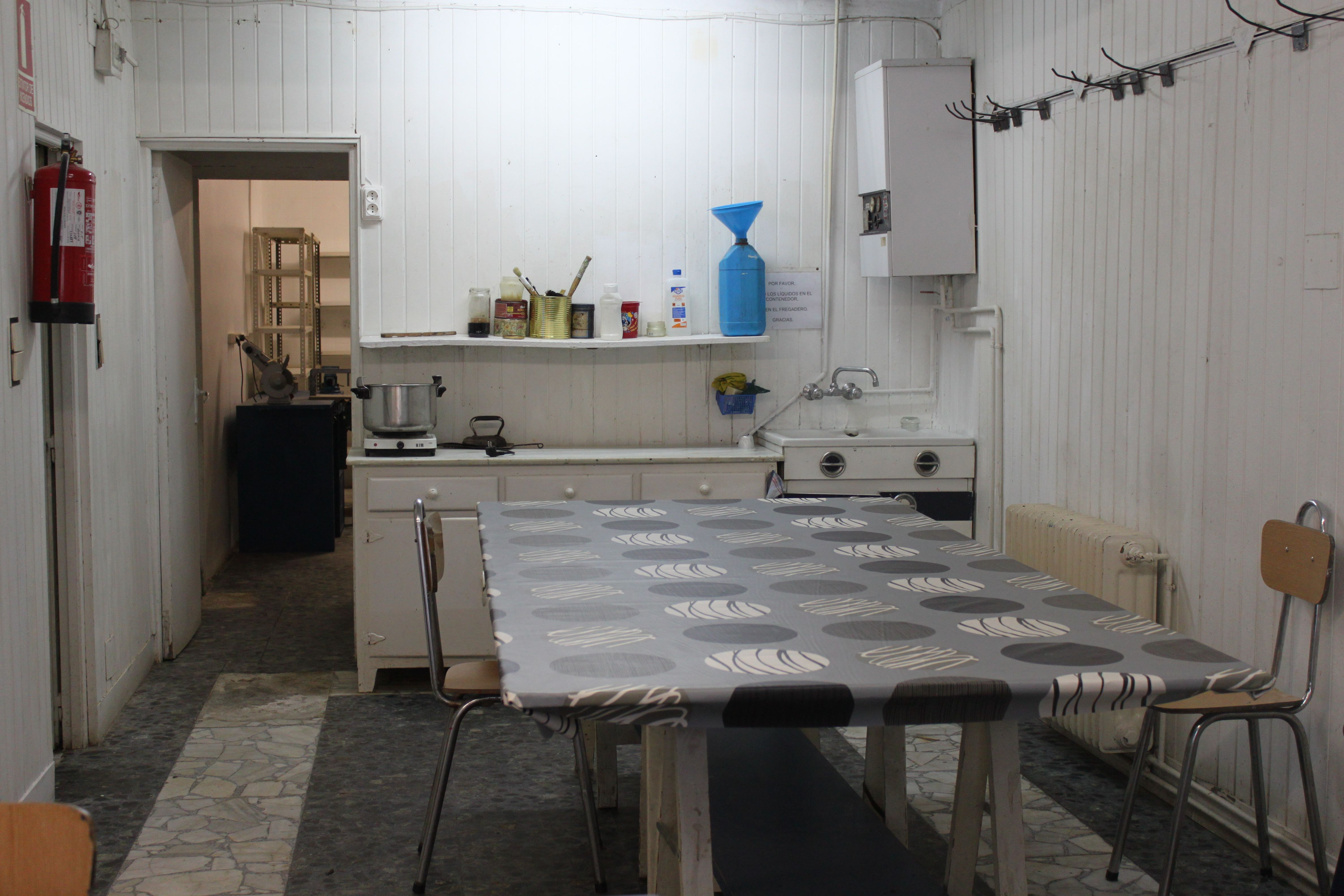 Aula De Trabajo Para Las Clases De Restauraci N Y Reciclaje De  ~ Curso De Restauraciã³n De Muebles Madrid