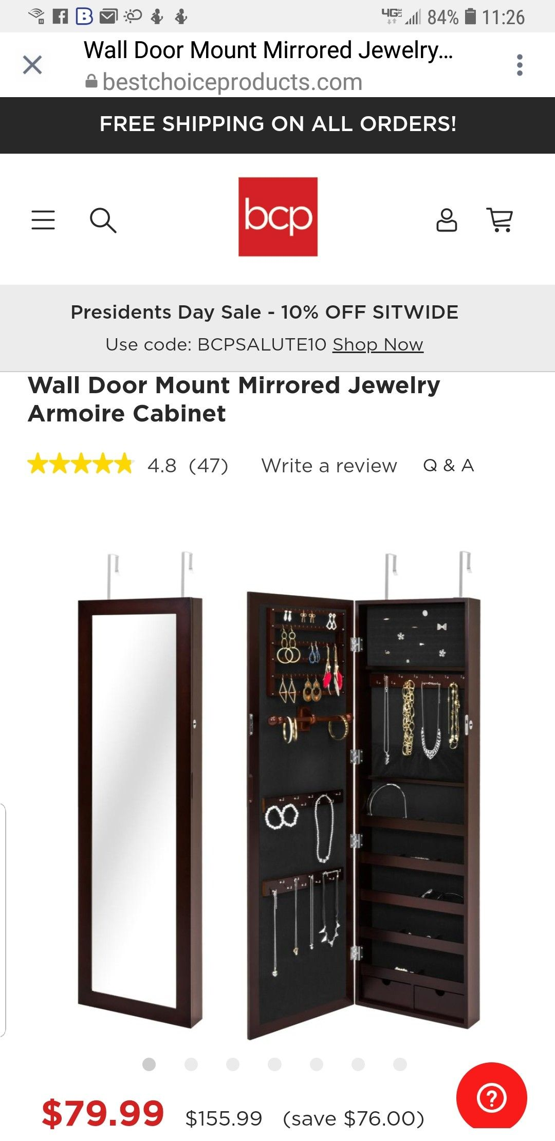 Pin by Alicia Jett on Shopping List Mirror jewelry