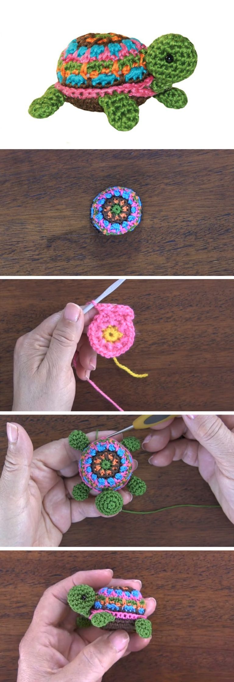 Crochet Turtle Tutorial – Handmade paris #crochetturtles