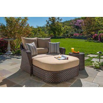 san marino 3 piece daybed by sirio outdoor pinterest daybed rh pinterest com sirio patio furniture san marino sirio patio furniture reviews