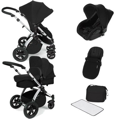 Ickle Bubba Stomp V2 Silver All In One Travel System