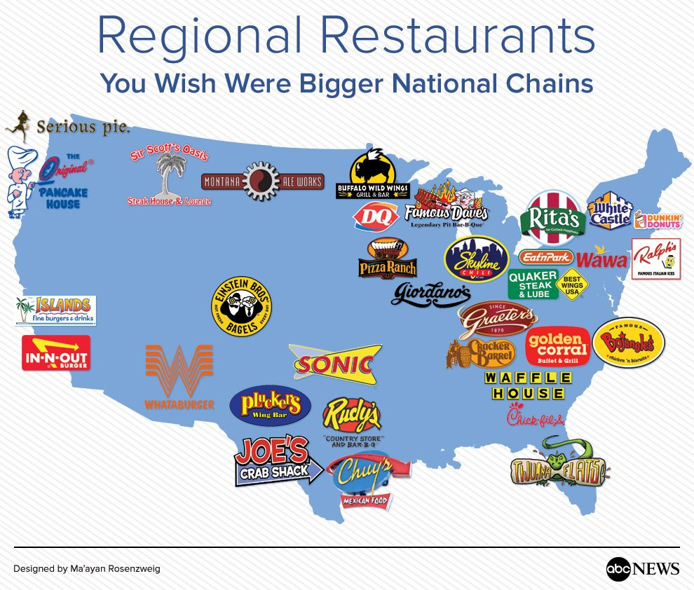 Regional Restaurants You Wish Were Bigger National Chains