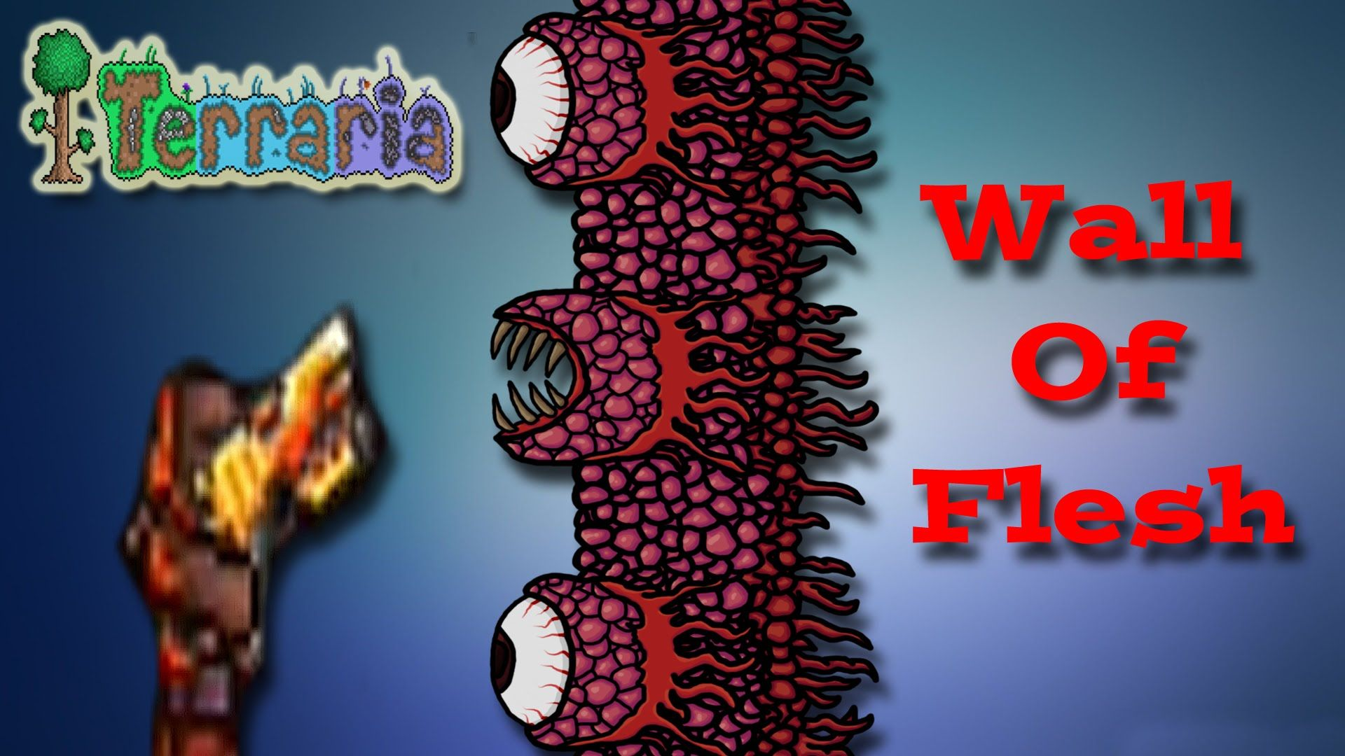 Terraria Ps4 Gameplay Episode 6 Wall Of Flesh Boss Battle Father An Ps4 Gameplay Gameplay Terrarium