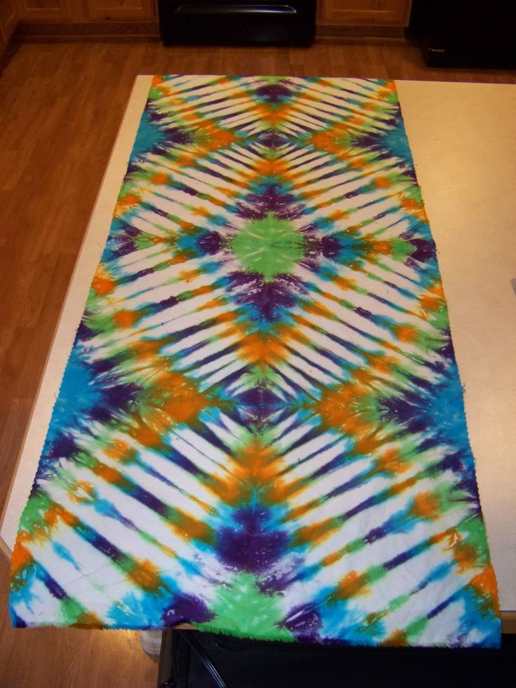 Tie Dye Folding Techniques Instructions Tie Dye Folding Technique