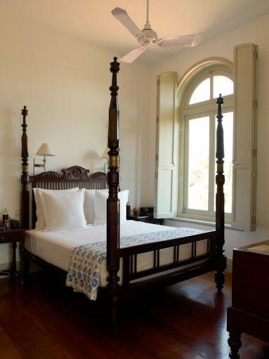amangalla sri lanka suite bedroom | British colonial decor
