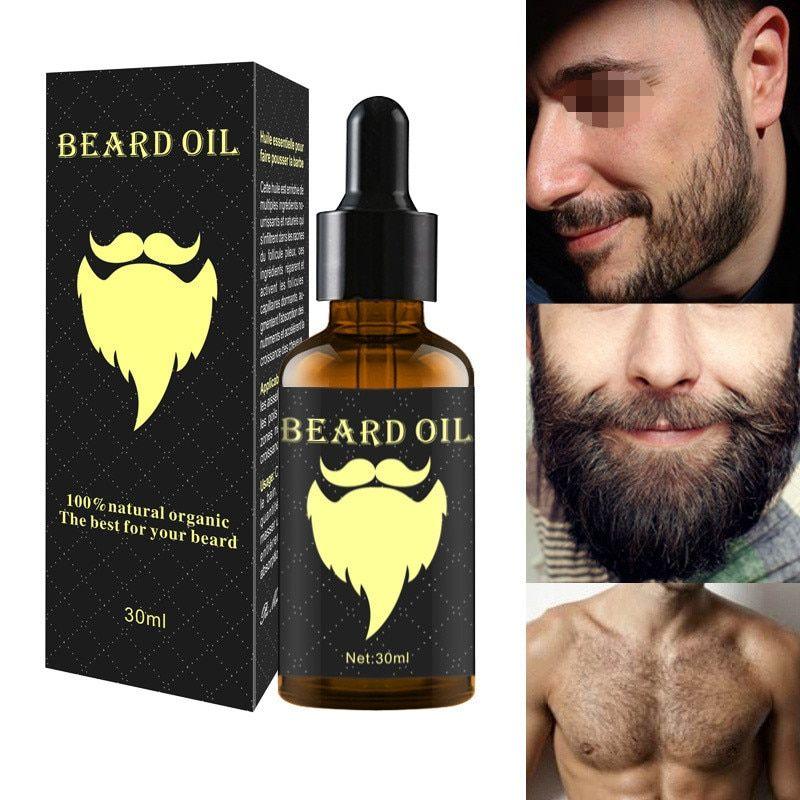 100 Natural 30ML Accelerate Facial Hair Grow Beard