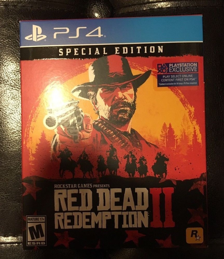 Red Dead Redemption 2 Special Edition Ps4 Playstation 4 Game Rockstargames Red Dead Redemption Rockstar Games Redemption