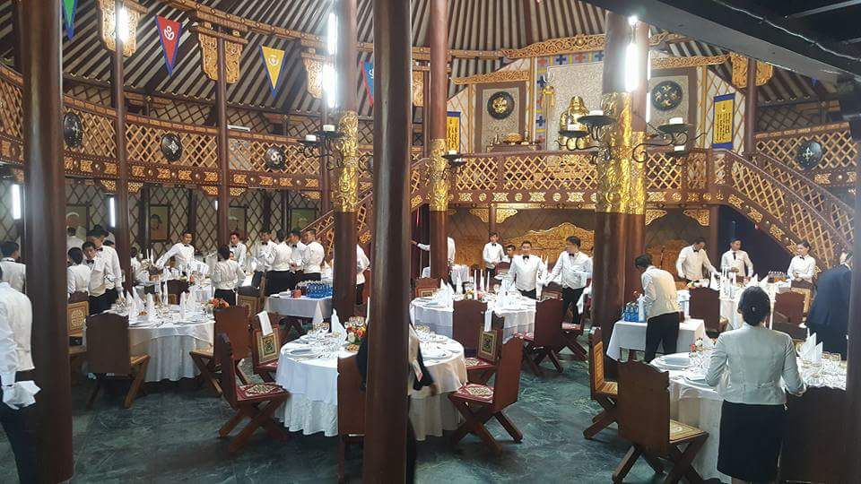 Mongol Yurt And Restaurant Over  FaceFace Meetings Discussed