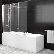 Duschabtrennung Badewannenfaltwand Duschwand Glas Badewanne Dusche