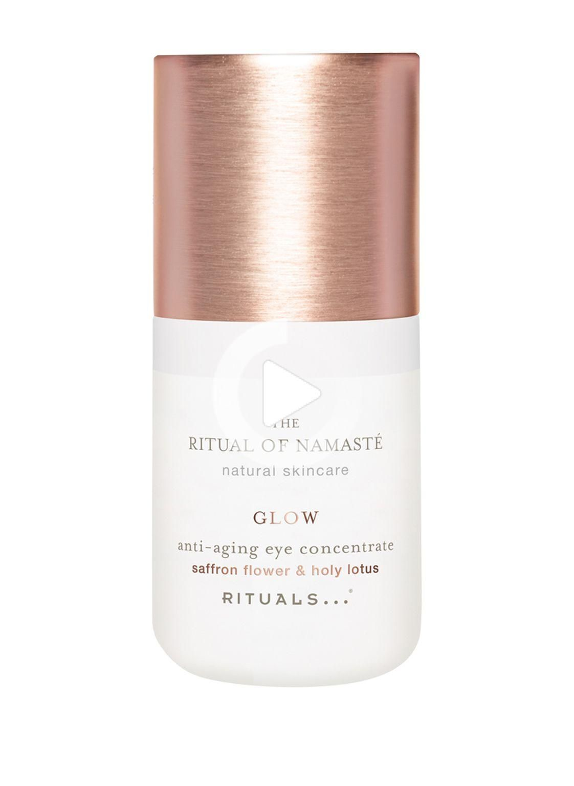 Bring out your inner glow with the help of this eye concentrate from The Ritual of Namasté. Fight the first signs of skin aging and crow's feet as well as deep wrinkles with an intensive moisture boost. Like the rest of the Glow product line, the eye concentrate also contains the natural ingredient saffron, which is known for its antioxidant anti-wrinkle effect. #weddinghairstyles