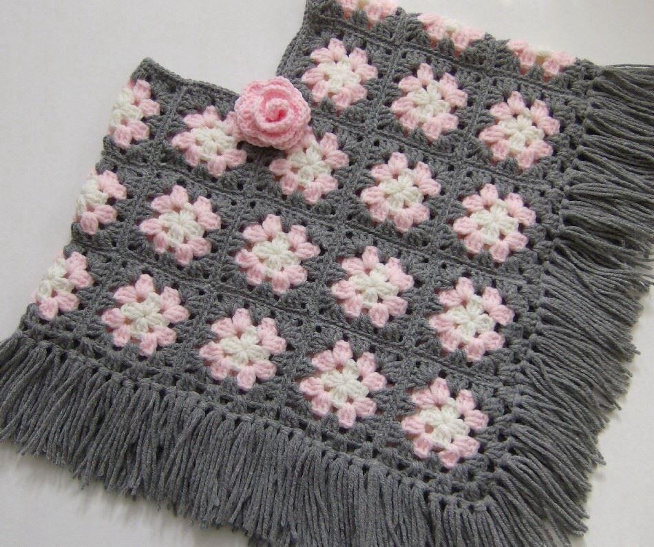 Granny poncho | Crochet. | Pinterest | Häkelmuster, Strick und Häkeln