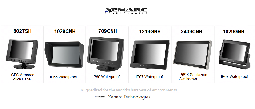 Rugged Touchscreen And Rugged Lcd Monitor Solutions Manufacturer Xenarc Technologies In 2020 Lcd Monitor Touch Panel Touch Screen