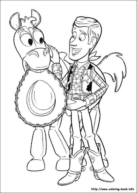 Toy Story 3 coloring picture | Disney Coloring Pages | Pinterest ...