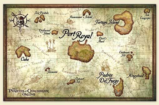 Map Of Pirates Of The Caribbean 5) pirates of the caribbean treasure map | Ryan | Pirate maps