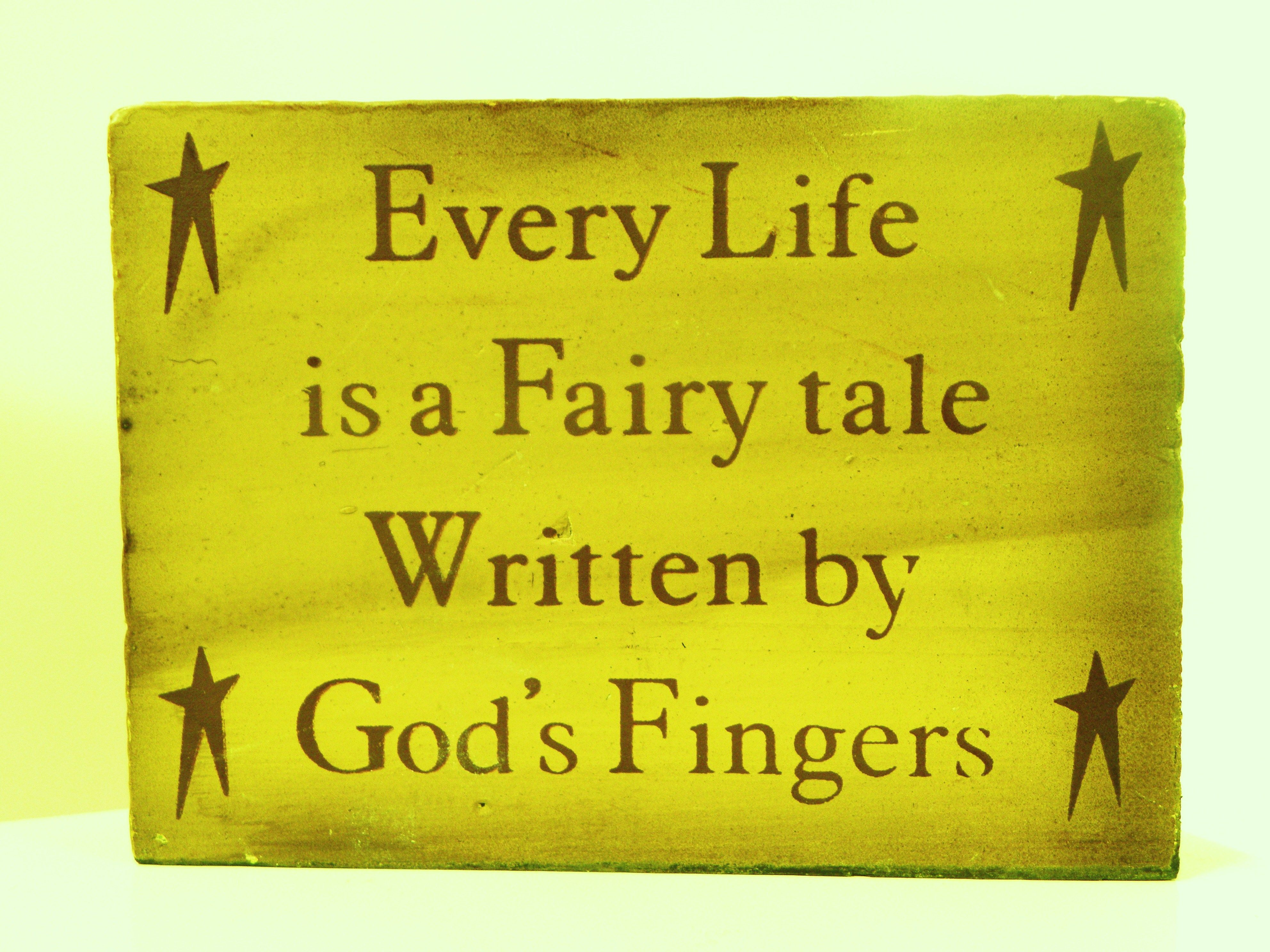 Fairy Tales By God