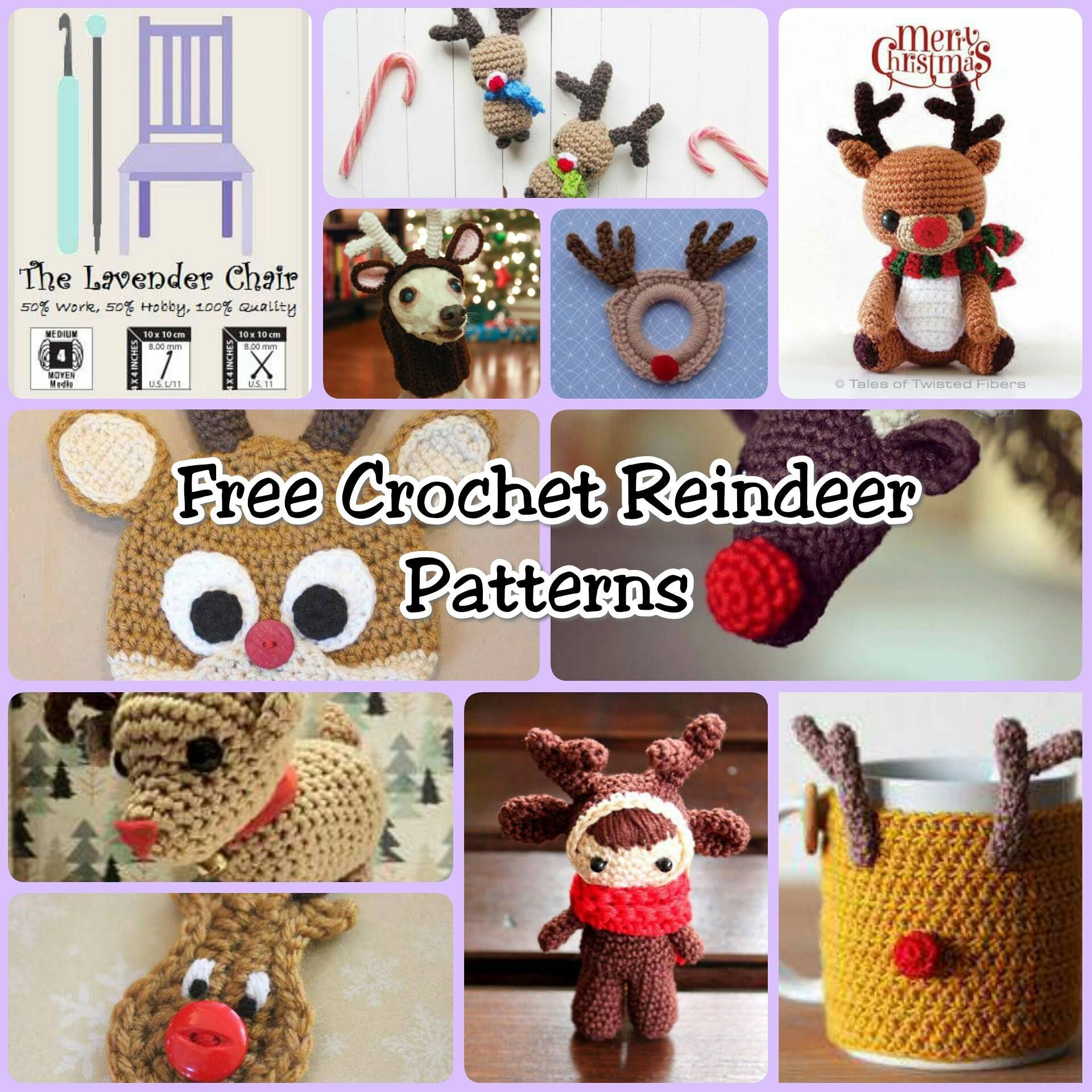 150+ FREE Christmas Crochet Patterns | Lavender, Crochet and Patterns