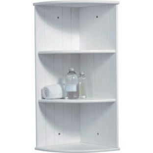 Nice Buy Living Corner Shelves With Tongue And Groove   White At Argos.co.uk