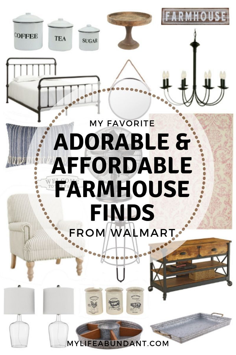 Adorable & Affordable Farmhouse Finds from Walmart | My Life Abundant