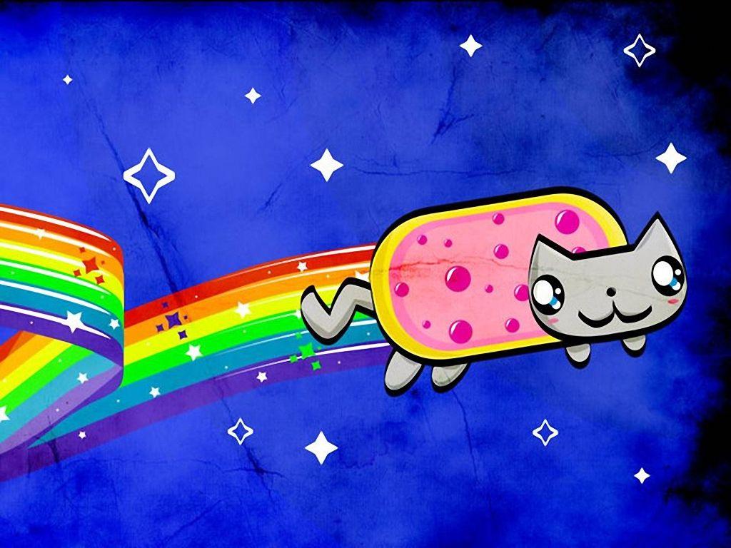 Nyan Cat Nyan Cat Pinterest Nyan Cat
