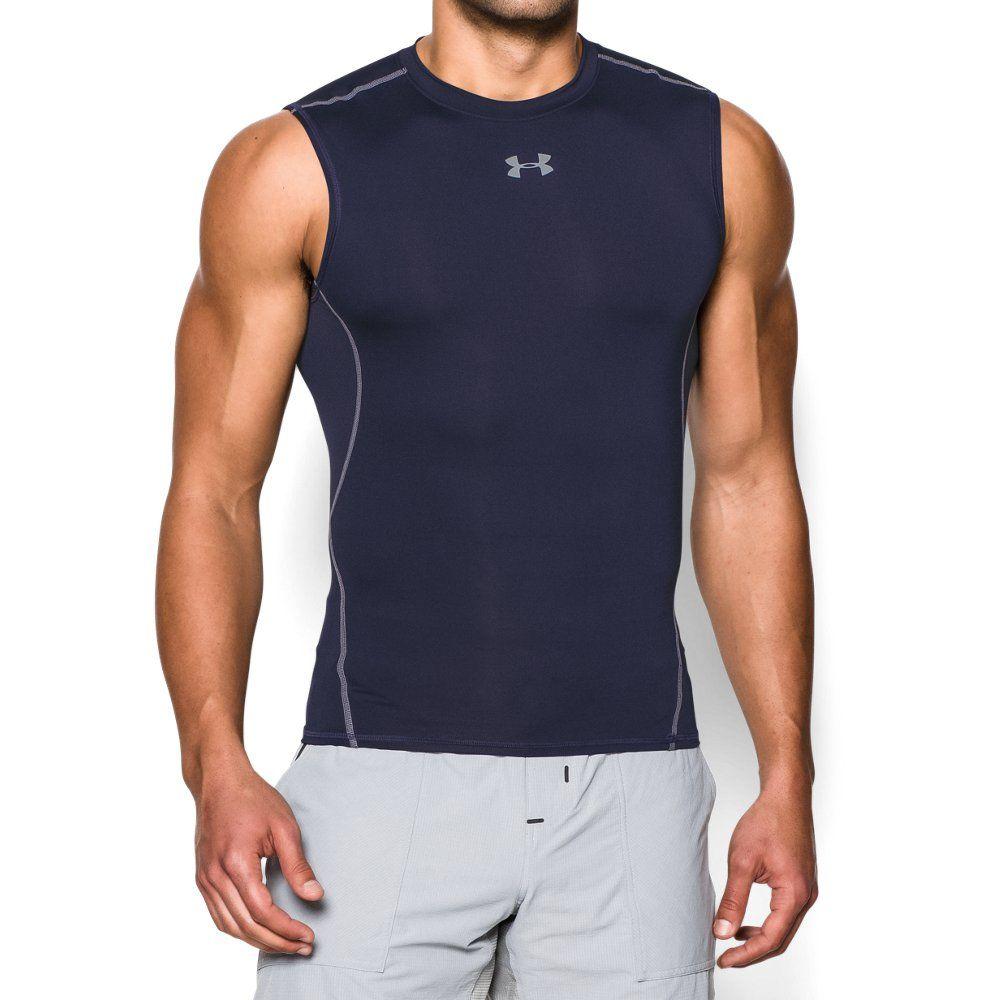1eee3efe120e4 Men s UA HeatGear® Armour Sleeveless Compression Shirt