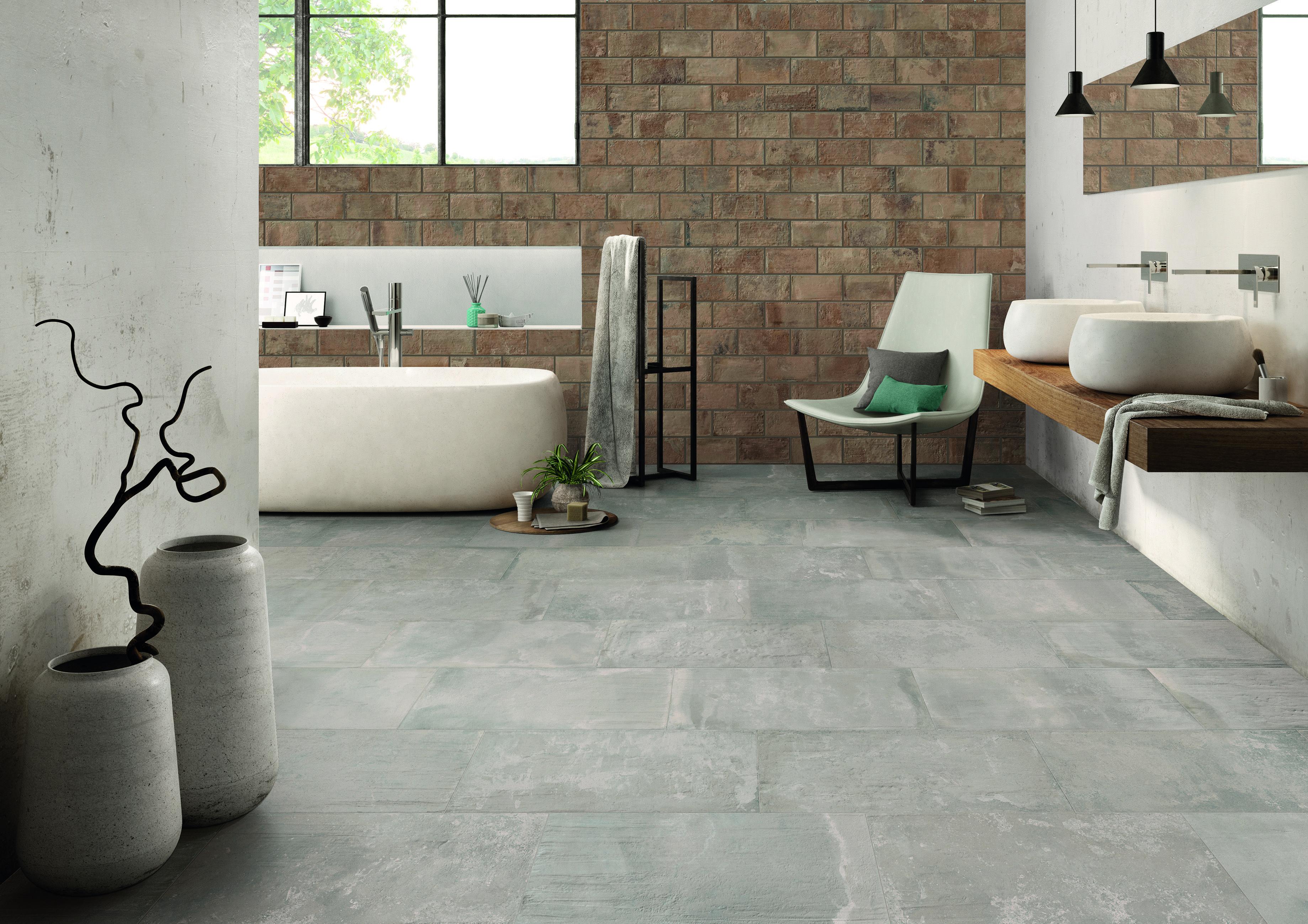 Beautiful 1200 X 1200 Floor Tiles Thin 2 Inch Ceramic Tile Shaped 3X6 Glass Subway Tile 4 X 10 Subway Tile Young 4 X 4 Ceramic Tile Pink4X4 Ceramic Tile Home Depot Emilceramica   Kotto XS Collection   Colours: Mattone \u0026 Cenere ..