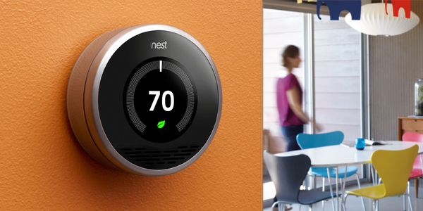 Nest The Learning Thermostat by Eric Fields, via Behance