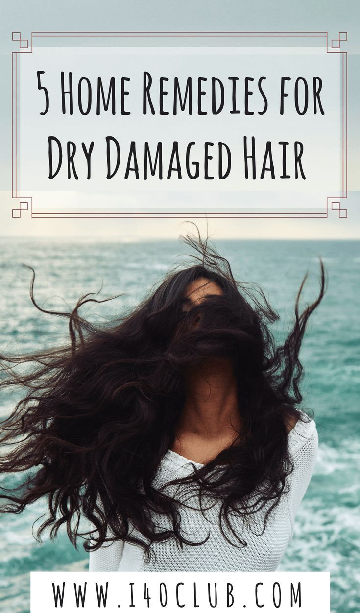 5 Home Remedies for Dry Damaged Hair Dry damaged hair