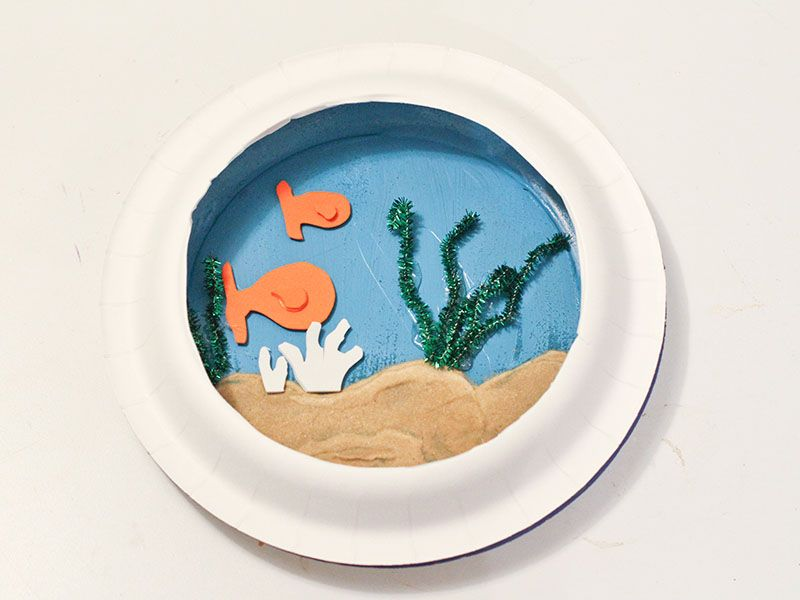 Crafts With Kids: Fish Bowl | Crafts for kids, Craft ...