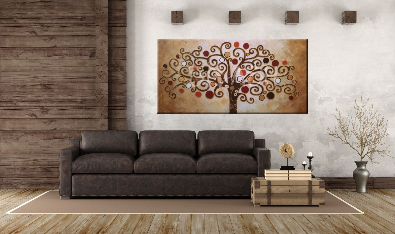 Cuadros rbol de la vida cuadros modernos cuadros - Cuadros para salones minimalistas ...