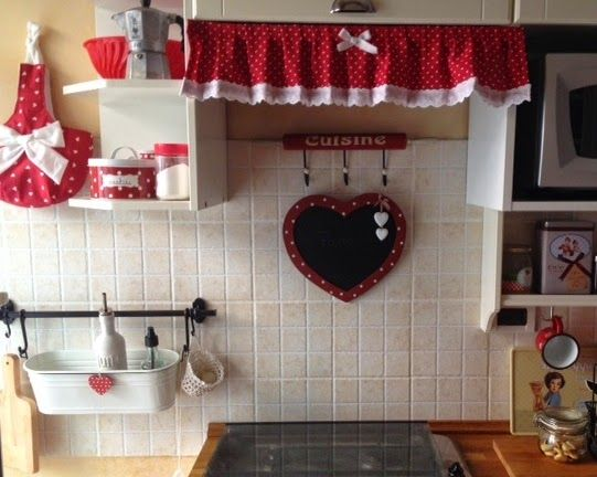 Cucina Country | RED and WHITE Love | Cucine country, Cucine ...