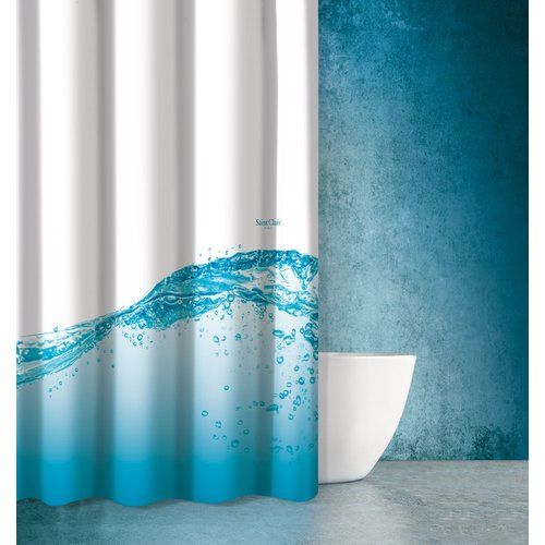 Saint Clair Paris Saint Clair Seawater Shower Curtain Brown