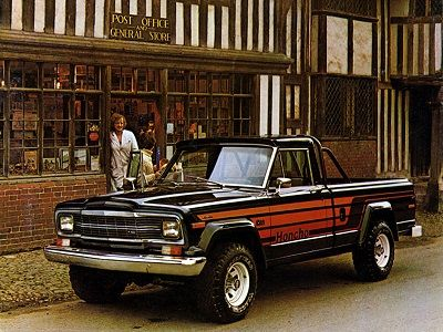 Jeep J10 Honcho 1979 1980 Jeep Jeep Truck Jeep Suv