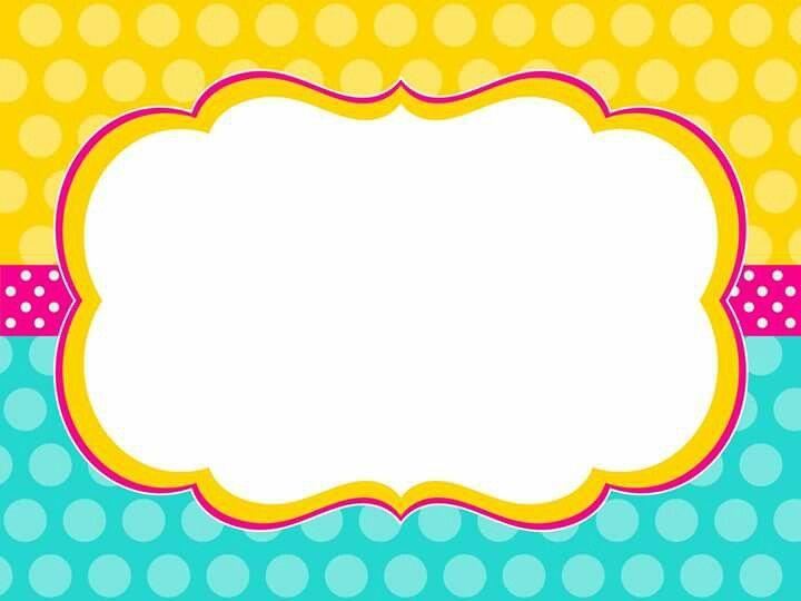 polka dot frame | Frames and Designs | Pinterest | Clip art, Binder ...