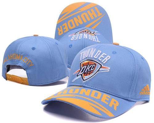 affbccd0cbf Oklahoma City Thunder Baseball Caps Curved Hats | NBA Peaked Hats ...