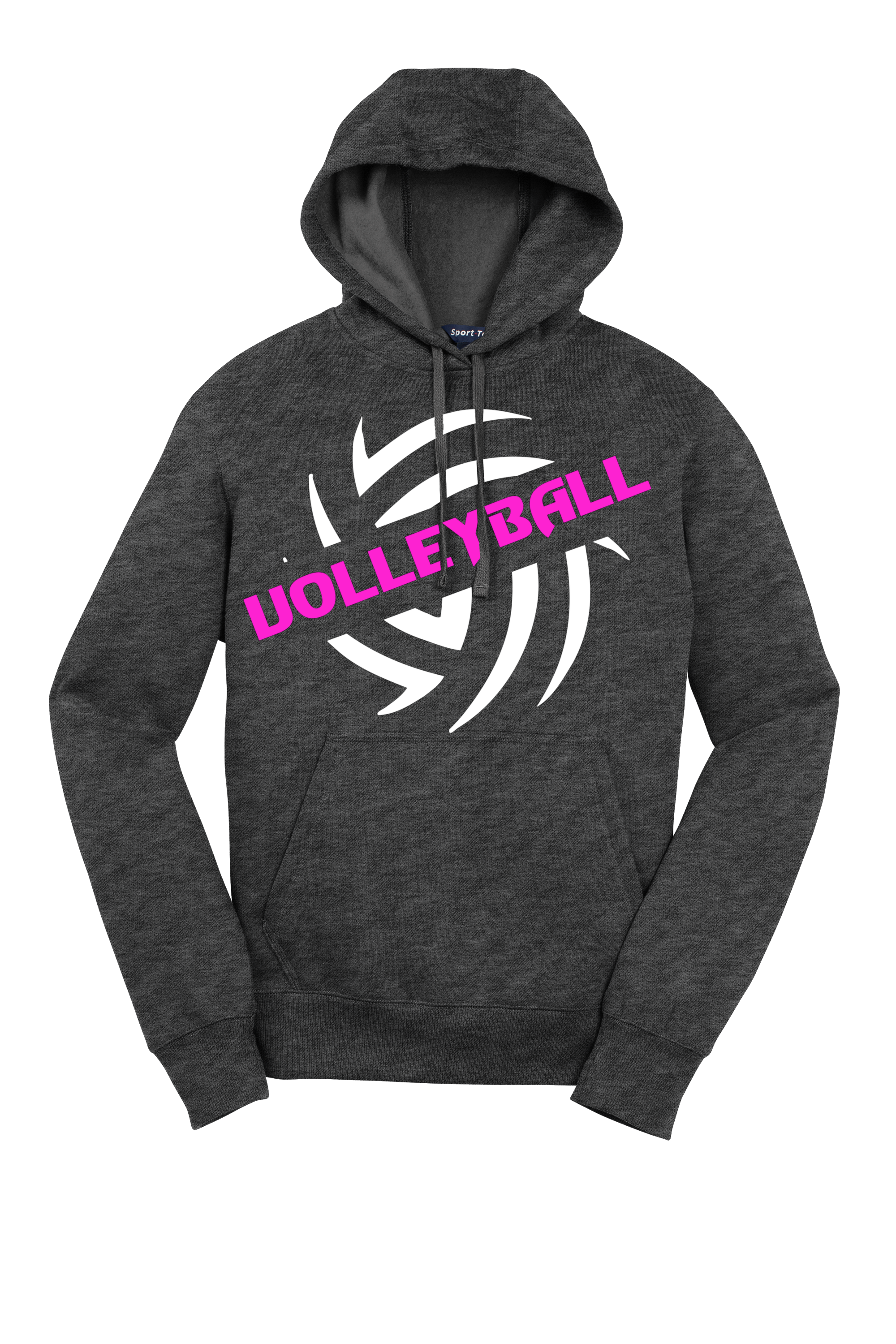 Volleyball Cotton Pullover Hoodie Cotton Pullover Hoodies Pullover Hoodie