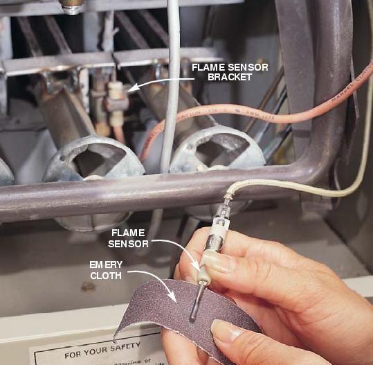 How To Clean A Furnace Flame Sensor Furnace Maintenance Furnace