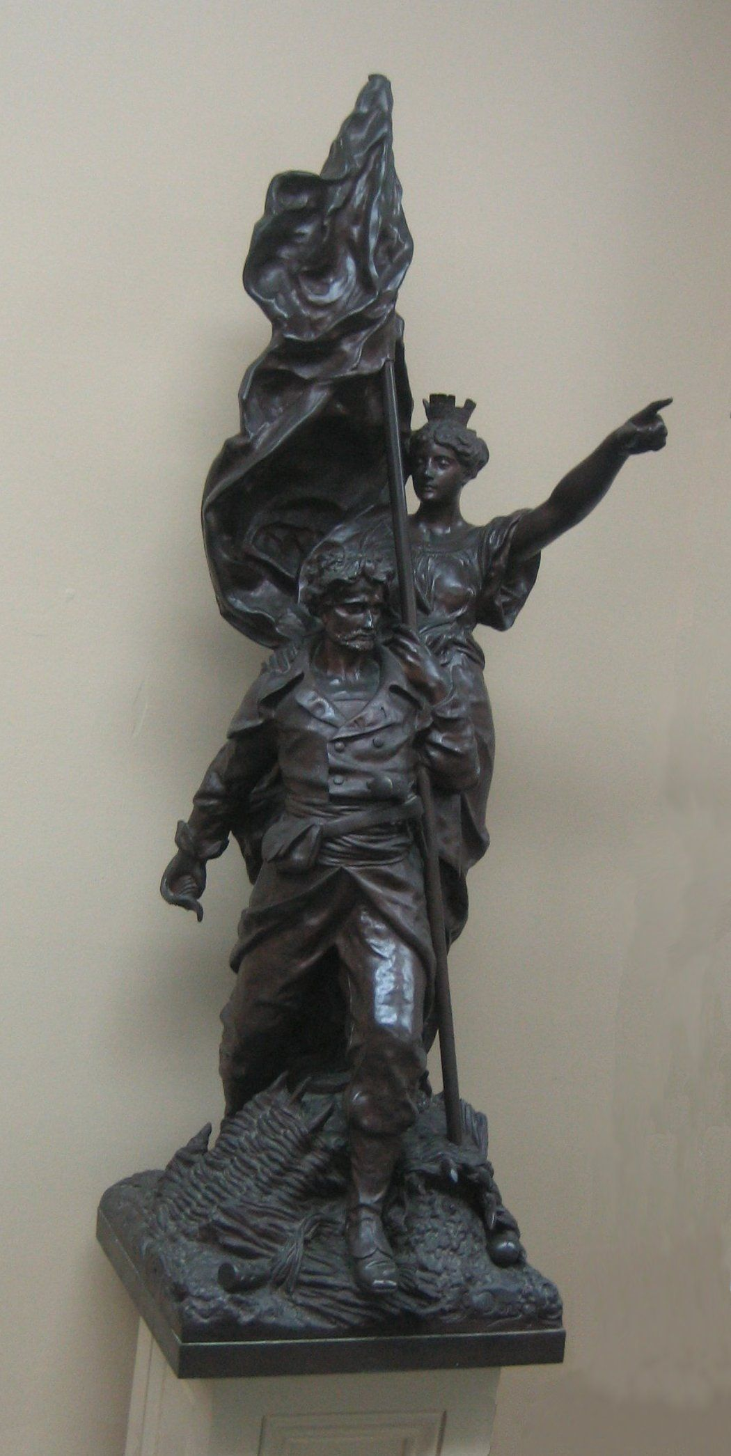 'Le_Defense_Nationale',_bronze_sculpture_by_Gustave_Doré_(1832-83),_Rosenberg_Library,_Galveston_Texas.JPG (1050×2091)